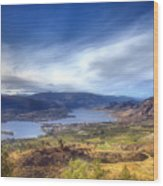 Osoyoos Lake Wood Print