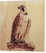 Osprey 2 Pillow/bag Wood Print