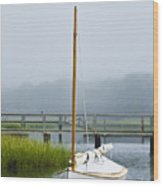 Osterville Sailboat Wood Print