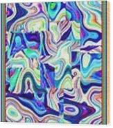 Otak Sakit Mental 2001-2005 Wood Print