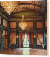 Other - The Ballroom Wood Print by Mike Savad