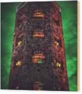 Otherworldly Enger Tower Wood Print