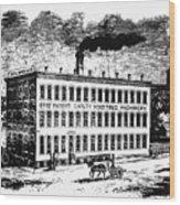Otis Elevator Factory Wood Print