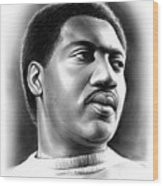 Otis Redding Wood Print