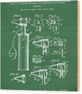 Otoscope Patent 1927 Green Wood Print