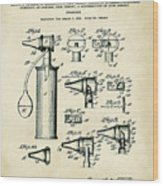 Otoscope Patent 1927 Old Style Wood Print