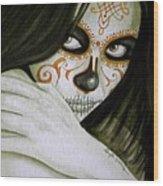 Otro Dia Triste Sin Ti  Wood Print by Al  Molina