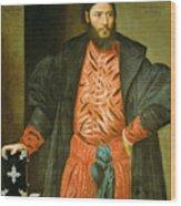 Ottaviano Grimani. Procurator Of San Marco Wood Print