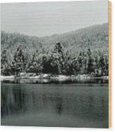 Ottawa River Wood Print