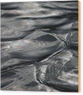 Otter Ripples Wood Print