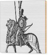 Ottoman Cavalryman, 1576 Wood Print
