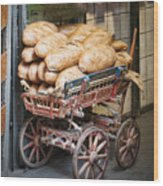 Our Daily Bread Wood Print