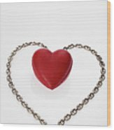 Our Hearts Forever Together Wood Print