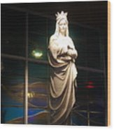 Our Lady Wood Print