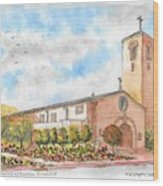 Our Lady Of Assumption Catholic Church, Claremont, California Wood Print
