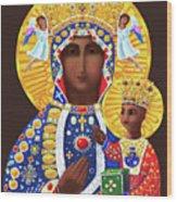 Our Lady Of Czestochowa - Mmcze Wood Print