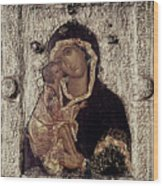 Our Lady Of Don Wood Print