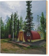 Our Lady Of Grace Beaver Creek Yt Wood Print