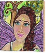 Our Lady Of Self-actualization Wood Print