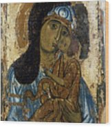 Our Lady Of Tenderness Wood Print