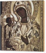 Our Lady Of Yevsemanisk Wood Print