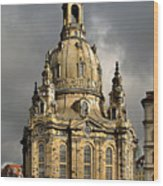 Our Lady's Church Of Dresden Wood Print by Christine Till