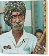 Our Man In India Wood Print