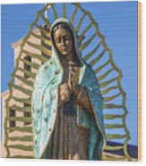 Our Mother Of Guadalupe Wood Print
