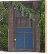 Our Outhouse - Photograph Wood Print