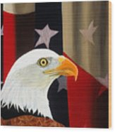 Our Proud Bird Wood Print