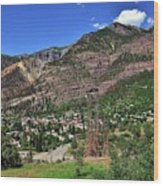Ouray, Colorado Wood Print