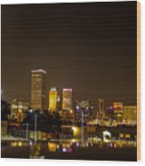 Tulsa - Our World Wood Print