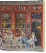 Out For A Pint Wood Print