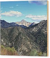 Out Of The Shadows - Angeles Crest Highway Wood Print