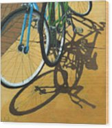Out To Lunch Wood Print by Linda Apple