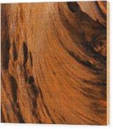 Outback Cavern Wood Print