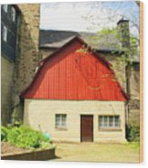 Outbuilding. Germany Wood Print