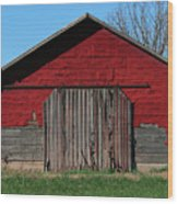 Outbuilding Wood Print
