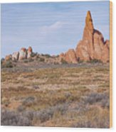 Outcroppings Wood Print