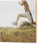 Outdoor Jogging IIi Wood Print
