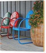 Outdoor Living Wood Print