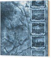 Outer Banks Lightouse Map 2 Wood Print