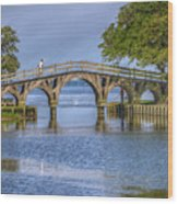 Outer Banks Whalehead Club Bridge  Wood Print