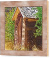 Outhouse 1 Wood Print