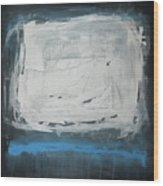 Over Blue Wood Print