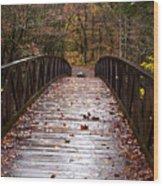 Over The Bridge Wood Print