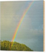 Over The Rainbow No.01 Wood Print