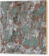 Overactive Christmas Celebration - V1slf100 Wood Print