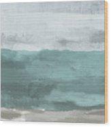 Overcast- Art By Linda Woods Wood Print