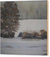 Overcast Wood Print